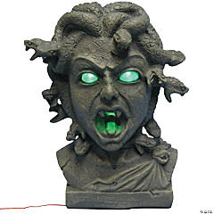 Animated Medusa Bust