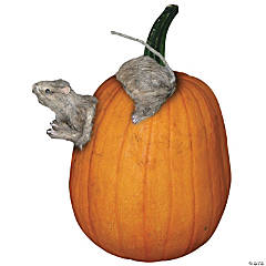 Rat Pumpkin Push-In