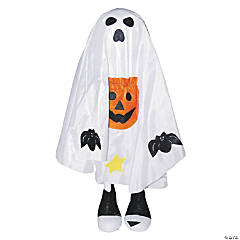 White Standing Halloween Greeter