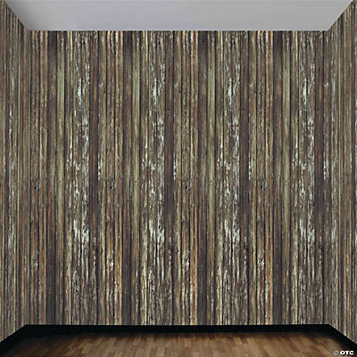 Wood-Look Roll Wall Decoration