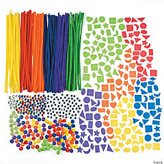Rainbow Bulk Craft Assortment