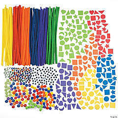 Super Rainbow Bulk Craft Assortment