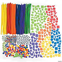 Deluxe Rainbow Bulk Craft Assortment