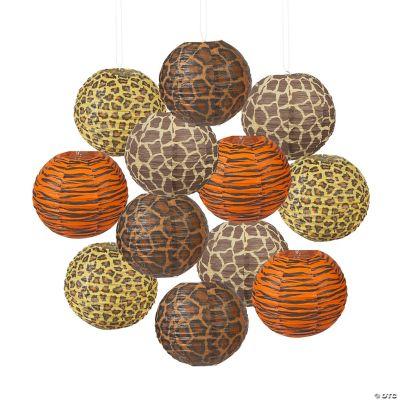 Paradise Safari Paper Lanterns