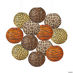 Paradise Safari Paper Lanterns