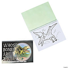 Paper Dino Shine & Reveal Activity Books