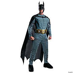 Arkham Asylum Batman Costume for Men