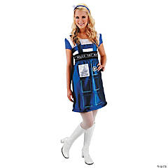 Doctor Who Dress Tardis Costume for Women