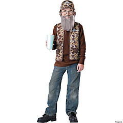Duck Dynasty Uncle Si Costume for Boys