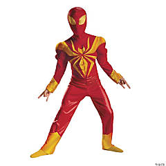 Muscle Ultimate Spider-Man Costume for Boys - Iron Spider Armor
