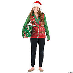 Ugly Christmas Sweater Costume for Women