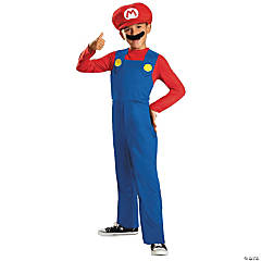 Classic Mario's Costume for Boys