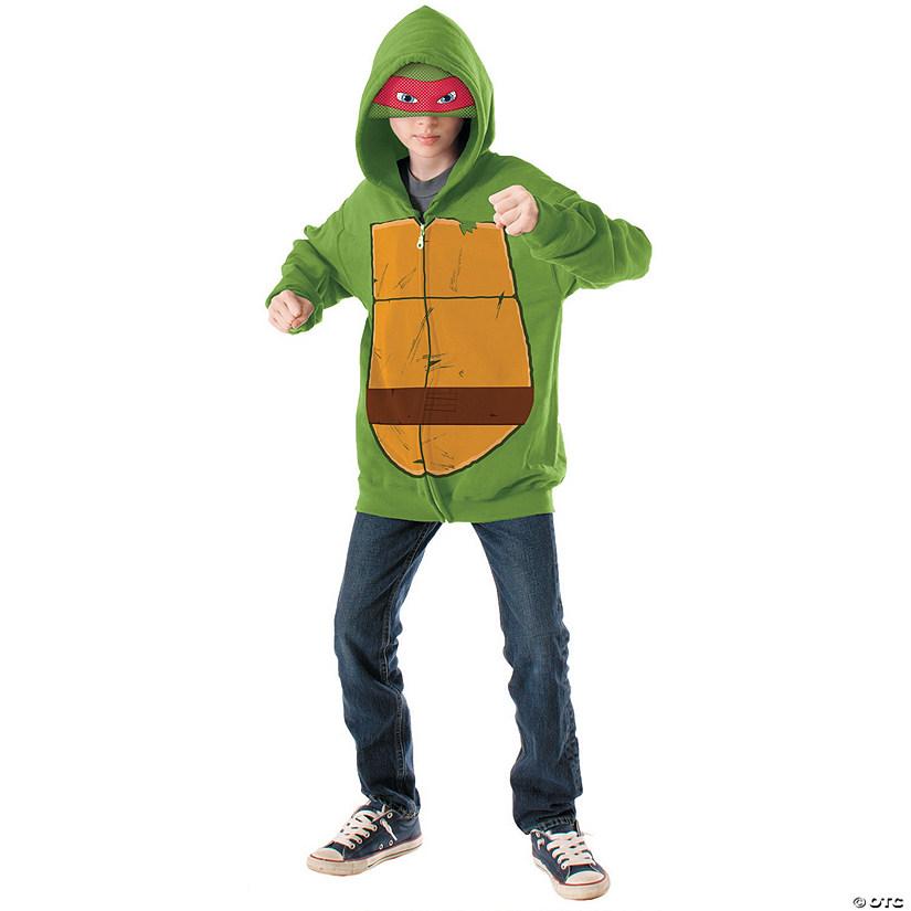 sc 1 st  Oriental Trading & Boyu0027s Hoodie Teenage Mutant Ninja Turtle Raphael Costume