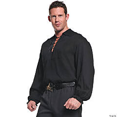 Black Pirate Costume for Men