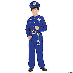 Police Officer Costume for Boys