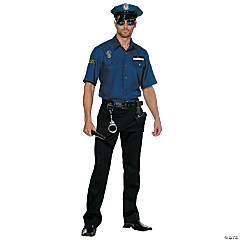You're Busted Policemen Costume for Men