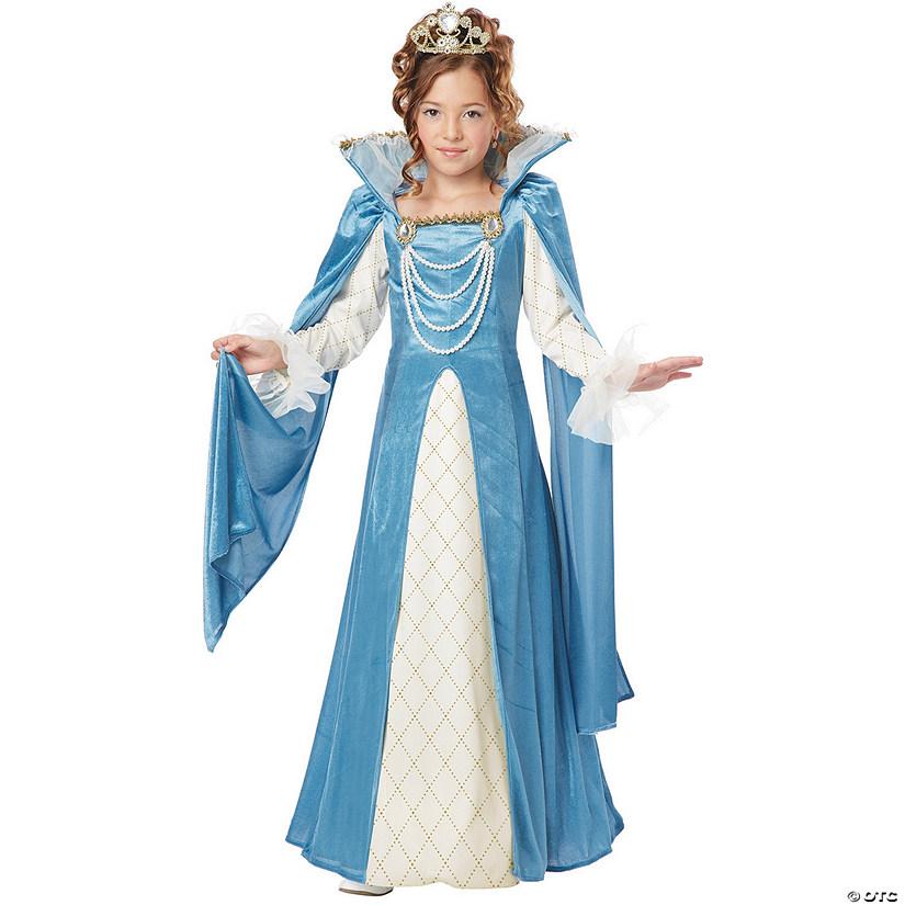 Girl\'s Renaissance Queen Costume