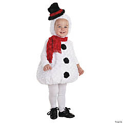 Snowman Costume for Toddlers