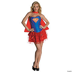 Flirty Super-Girl Costume for Women