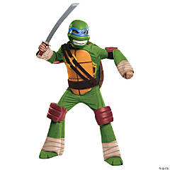 Boy's Deluxe Teenage Mutant Ninja Turtle Leonardo Costume
