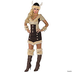 Viking Queen Costume for Women
