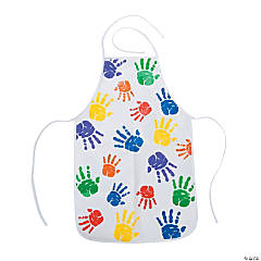 Vinyl Child's Easy Wipe Aprons