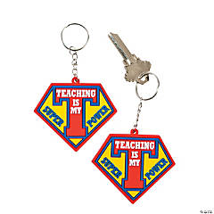 Teacher Superpower Keychains