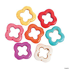 Quatrefoil Beads - 20mm