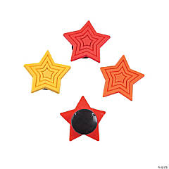 Star-Shaped Snap Charms