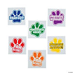 Paw Print Motivational Tattoos