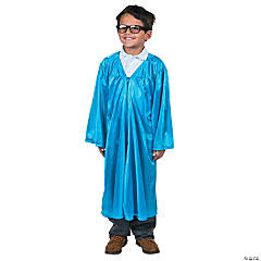 Light Blue Elementary Graduation Robe