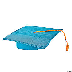 Elementary Grad Light Blue Mortarboard Hat