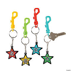 You're a Star! Backpack Clip Key Chains