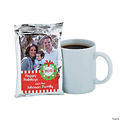 Scooterdoodle Custom Photo Coffee Packs - Christmas