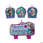 Disney's Frozen Birthday Candle Set
