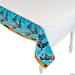 Plastic Batman Tablecloth