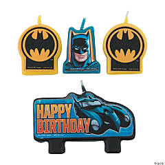 Batman Birthday Candles