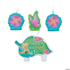 Disney Fairies Tinker Bell Birthday Candle Set
