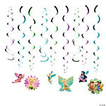 Disney Fairies Tinker Bell Swirl Decorations Value Pack