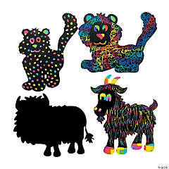 Magic Color Scratch The Highest Power Animals