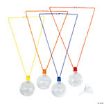 Walk His Way Compass Sand Art Bottle Necklaces