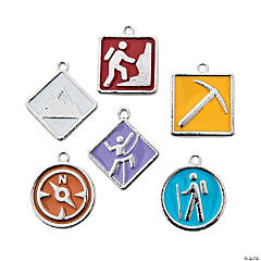 The Highest Power Enamel Charms - 17mm - 19mm