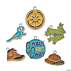 Walk His Way Enamel Charms - 17mm - 19mm