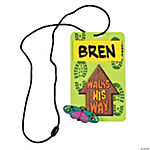 Walk His Way Name Tag Necklace Craft Kit