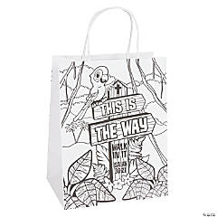 Color Your Own Walk His Way Take Home Bags