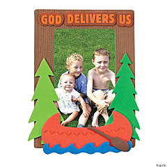 Camp Courage Picture Frame Magnet Craft Kit