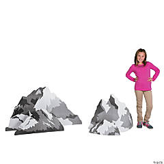 3D Mountain Rock Stand-Ups