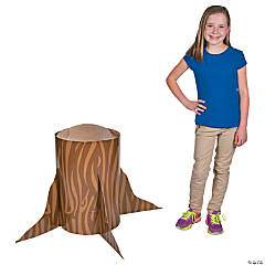 3D Tree Stump Stand-Up