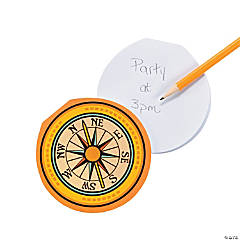 Compass-Shaped Notepads