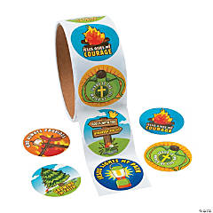 Camp Courage Stickers